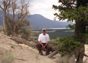Dave Hillary at Hoodoos