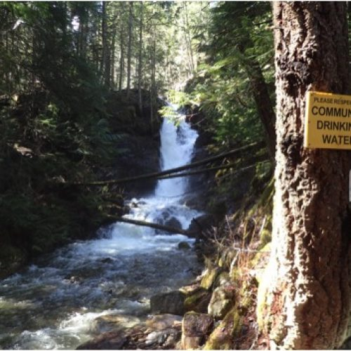 Water monitoring in the Slocan Valley